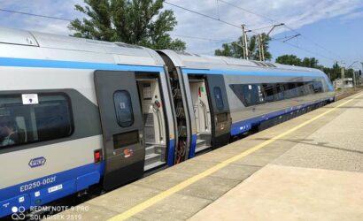 ED250-002 wrócił do obsługi pociągów PKP Intercity [GALERIA+FILM]