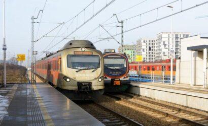 W pierwszym miesiącu 2021 r. kolej wybrało 13,6 mln pasażerów