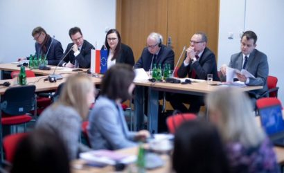 Spotkanie minister Małgorzata Jarosińska-Jedynak nt. ERTMS na polskich torach