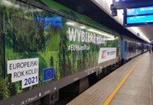 Do Warszawy przyjechał pociąg promujący Europejski Rok Kolei