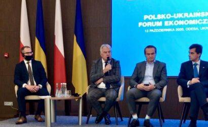 Prezes PKP LHS wziął udział w polsko-ukraińskim forum ekonomicznym w Odessie