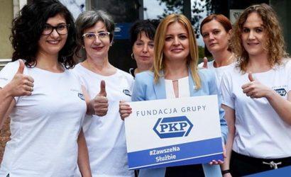 Fundacja Grupy PKP podsumowała 2020 r.