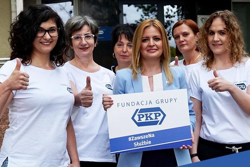 Fundacja Grupy PKP przekazała 60 tys. zł dla szpitala w Rykach