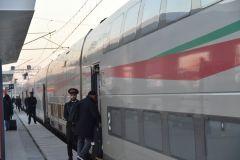 Obsługa pociągu Al Boraq