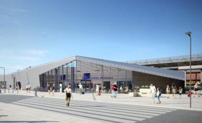 PKP S.A. wybrały wykonawcę przebudowy dworca Gdańsk Wrzeszcz [WIZUALIZACJE]