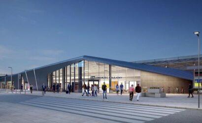 Siedem ofert na przebudowę dworca Gdańsk Wrzeszcz [WIZUALIZACJE]