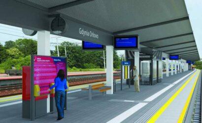 Siedem ofert na modernizację przystanku SKM Gdynia Orłowo