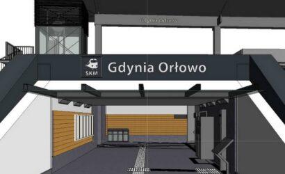 SKM Trójmiasto zmodernizuje przystanek Gdynia Orłowo