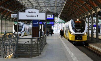 Koleje Dolnośląskie chcą honorować UrbanCard we Wrocławiu