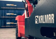 Nowy reach stacker w terminalu PKP Cargo Connect w Gliwicach