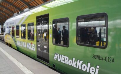 Specjalny pociąg Kolei Dolnośląskich promuje Europejski Rok Kolei