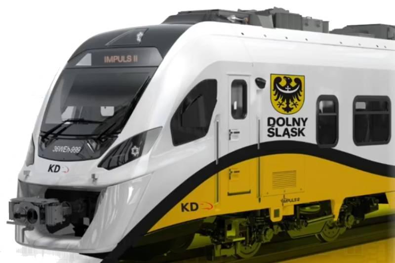 Koleje Dolnośląskie kupiły 6 pociągów hybrydowych
