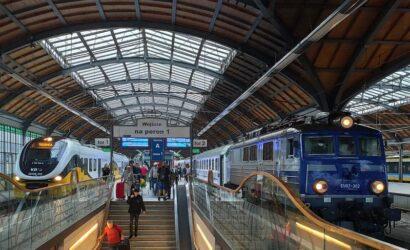 W listopadzie koleją podróżowało 12,4 mln pasażerów