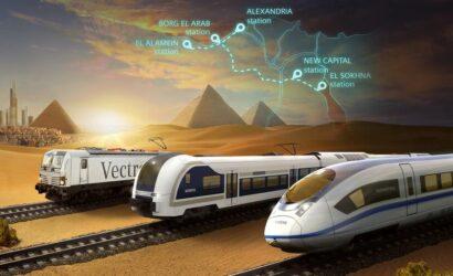 Siemens Mobility wprowadzi kolej dużych prędkości do Egiptu