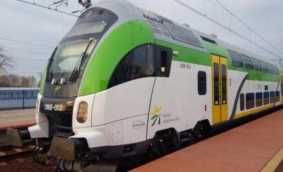 Public Transport Service pomoże w utrzymaniu składów push&pull KM