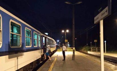 Pociąg PKP Intercity ponownie zatrzymał się w Knurowie