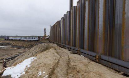 Kończy się budowa korpusów nasypów bajpasu niedaleko Krzyża Wlkp.