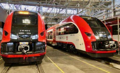 Dwa kolejne Elfy2 dostarczone do Kolei Wielkopolskich