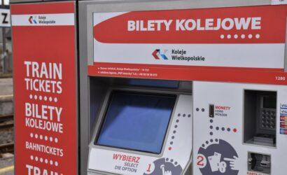 Koleje Wielkopolskie chcą wydzierżawić automaty biletowe