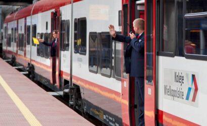 Korekta rozkładu jazdy pociągów Kolei Wielkopolskich