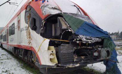 Koleje Wielkopolskie naprawią po wypadku elfa EN76-035