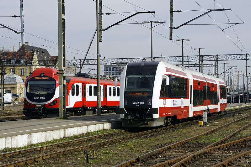 Ograniczenia w kursowaniu pociągów Kolei Wielkopolskich