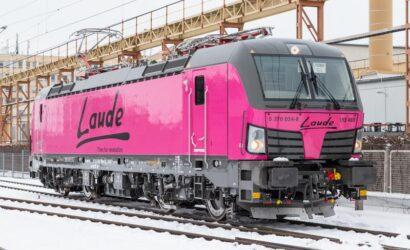 Laude powiększyła swoją flotę o lokomotywę Vectron MS