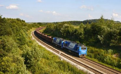 Uniejów-Rędziny: powstanie wiadukt nad linią szerokotorową