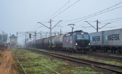 W listopadzie pociągami przewieziono 20,6 mln ton ładunków