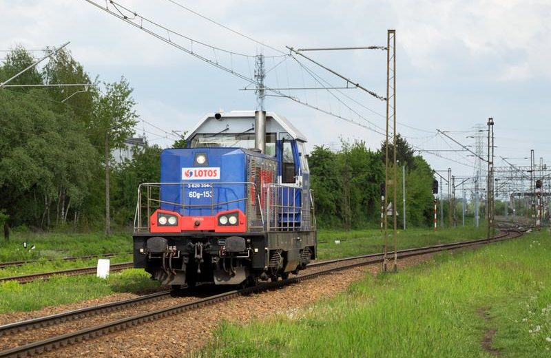 Pierwszy przewóz nowymi wagonami intermodalnymi LOTOS Kolej