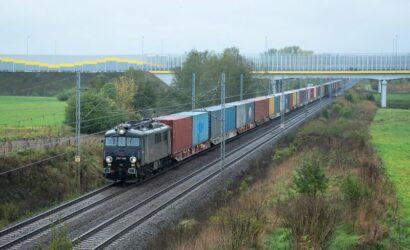 W III kwartałach 2020 r. przewieziono koleją niemal tyle intermodalu co w całym 2018 r.