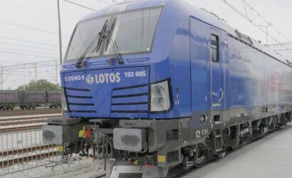 LOTOS Kolej zaprezentowała wielosystemową lokomotywę Vectron MS