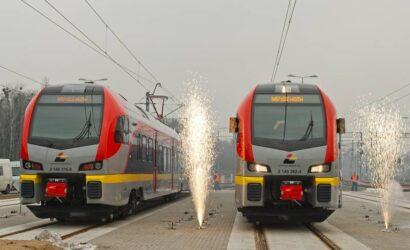 7 lat temu wyruszył pierwszy pociąg Łódzkiej Kolei Aglomeracyjnej
