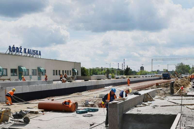 Jak zmienia się stacja Łódź Kaliska?