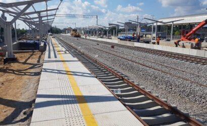 W sierpniu pasażerowie odjadą z nowych peronów stacji Łódź Kaliska