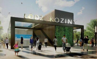 PLK podpisały umowę na budowę przystanku Łódź Koziny