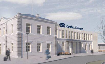 Trzy ofert na przebudowę dworca PKP S.A. Łowicz Główny