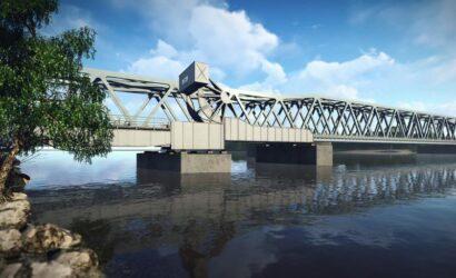 PKP PLK i Wody Polskie wspolnie wybudują most na Regalicy