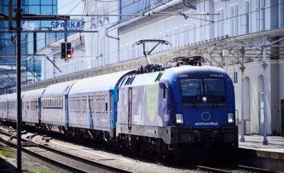 Pociąg promujący Europejski Rok Kolei zakończył swoją podróż