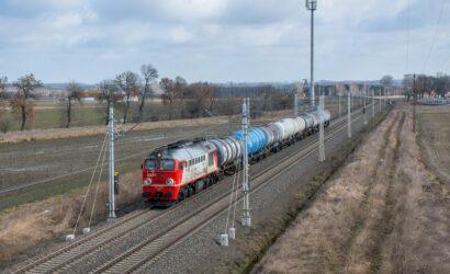 W styczniu 2021 r. przewieziono koleją 17,5 mln ton ładunków