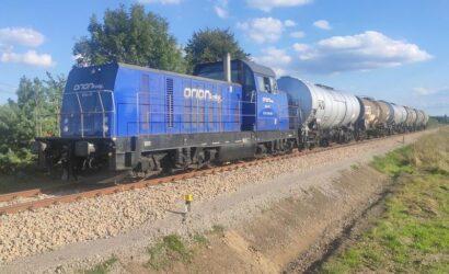 Z Mielca do Kochanówki ruszyły pociągi towarowe