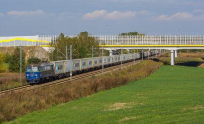 Najcięższy pociąg intermodalny w Polsce dojechał do Gdańska