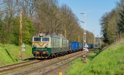Które towary były najczęściej przewożone koleją w 2020 r.?