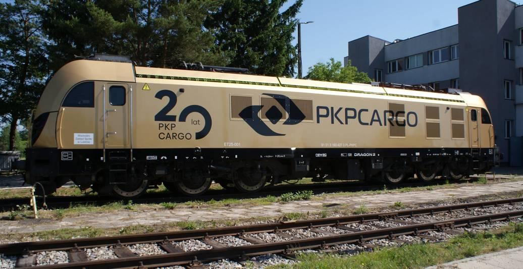 Złoty Dragon z okazji 20. rocznicy powstania PKP Cargo