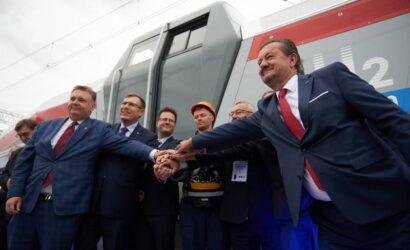 Pesa Bydgoszcz zaprezentowała lokomotywę wodorową