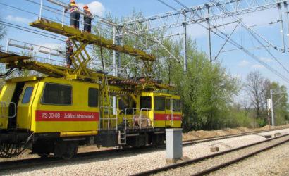 Utrudnienia na linii Radom – Dęblin po zerwaniu sieci trakcyjnej