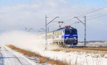 Bezpieczne podróże koleją na święta Bożego Narodzenia