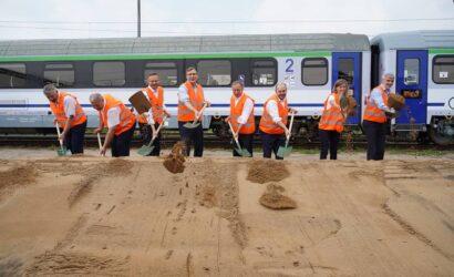 Rusza rozbudowa bocznicy kolejowej Szczecin Zaleskie Łęgi