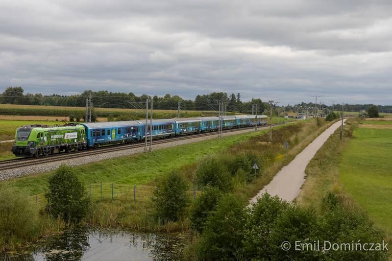 Connecting Europe Express odjechał z Warszawy w dalszą podróż