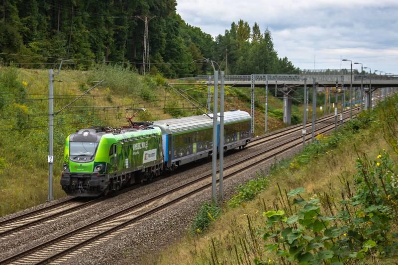 """Dziś do Polski przyjedzie pociąg """"Connecting Europe Express"""""""